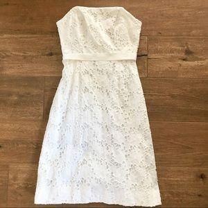 Lilly Pulitzer Eyelet Strapless Dress